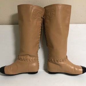 Chanel boots size 37